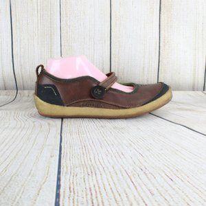 Merrell Paris Saddle Crepe Mary Jane Shoes